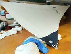 Hunter 380 Furling Mainsail 47.5and039 Luff 49and039 Leech By 17and039 Foot