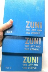Zuni The Art And The People, Vols 1, 2, 3 Eandb Bell, 1975, Squaw Bell Traders