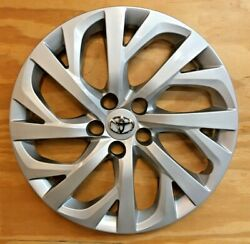 4 X Silver Hubcap Will Fit Your 2017 2018 2019 Toyota Corolla 16 61181
