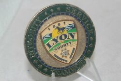 Integrity Service Lyon County Sheriffand039s Office Teamwork Challenge Coin