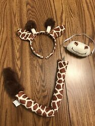 Giraffe Costume Ears Nose And Tail