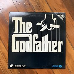 The Godfather 1and2and3 Laserdisc, Brando/pacino Extended Play Edition