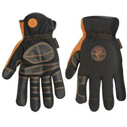 Klein Tools Electrician's Work Gloves Extra Large Non Slip Grip Protective Gear