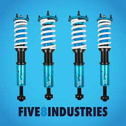 Five8 Industries Full Coilovers Height Adjustable For Lexus Sc430 2002-2010