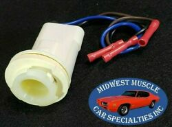 Ford Park Tail Stop Turn Signal Side Light Lamp Bulb Wiring Harness Socket D62