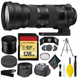 Sigma 150-600mm f5-6.3 DG OS HSM Sports Lens for Nikon F  + Card Wallet