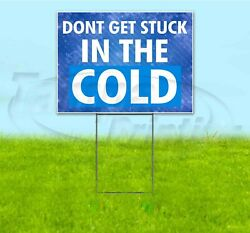 Heating And A/c Services 18x24 Yard Sign With Stake Corrugated Bandit Usa Hvac