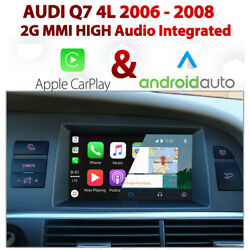 Audi Q7 2006 - 08 2g Mmi Touch Overlay Apple Carplay And Android Auto Integration