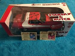 Rare Starsky And Hutch Autographed Car W/ 5 8 Figure Show Chacacters