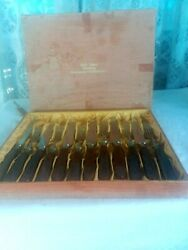 Vintage German Cutlery Rostfrei Set Of 6 Knives And Forks Still In Labled Box