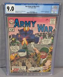 Our Army At War 113 Wild Man And Jackie Johnson 1st App Cgc 9.0 Dc Comics 1961