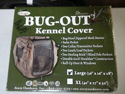 Avery Bug Out Kennel Cover Large 36 X 26 X 28 Hunting Dog Supplies