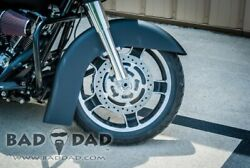Bad Dad 16-18 Moand039 Fl Front Fender For Harley Flh/t Touring 86-13 81272-1