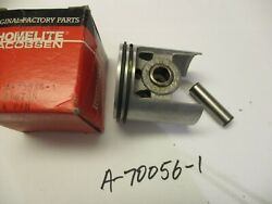 New Homelite Dm50, 450 Piston, Rings, Pin Pn A-70056-1 Thick Rings