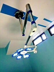 Latest Led Ot Light Operation Theater Surgical Light Operating Lamp With 5 Ref.