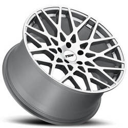 4 19 Staggered Tsw Wheels Vale Silve Rims B1