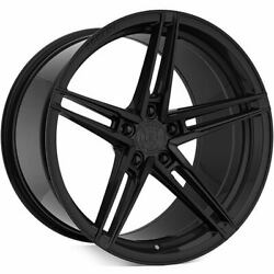 4 20 Rohana Wheels Rfx15 Gloss Black Rims B10