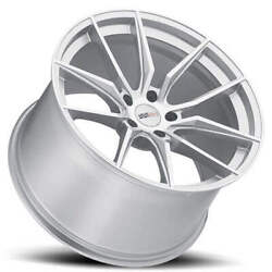 4 20 Staggered Cray Wheels Spider Silver Rims Fit Corvette B2