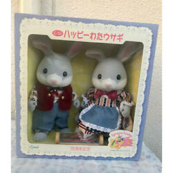 Happy Bunny Rabbit Commemorating The 15th Anniversary Of The Sylvanian Families