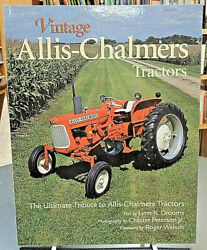 Vintage Allis-chalmers Tractors Ultimate Tribute Agriculture History Grooms