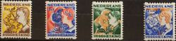 Holanda. Mnh Yv 245/48a. 1932. Series Completa. Serrated Of' Rolls' .magnifica