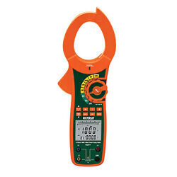 Extech Pq2071 1-/3-phase 1000a True-rms Ac Power Clamp Meter