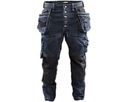 Blaklader Cordura Denim Stretch Work Trousers Jeans Knee And Holster Pockets- 1999