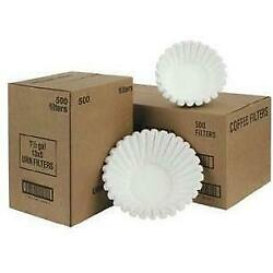 Fetco F001 15 x 5.5 in. Paper Coffee Filters 500 Count