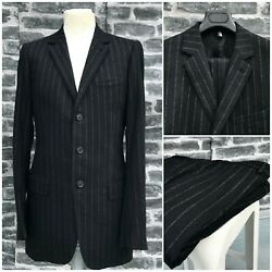 Ultrarare And Gorgeous Dior Homme Aw02 Hedi Slimane Flannel Pinstripe Suit