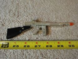 Rare Vintage Lone Star Product Diecast Tommy Gun, Cap Gun. Made In England.