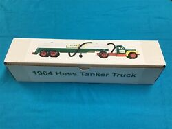 1964 Hess Tanker Truck Box With Funnel Insert And Battery Card No Truck
