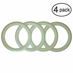 17 Inch Rims Whitewall Flapper Wsw Topper Tire Trim Insert Style Set Of 4 Pcs