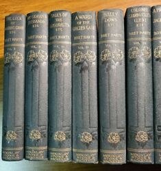 The Works Of Bret Harte 18 Consecutively Numbered 1-18 Volumes, Fine