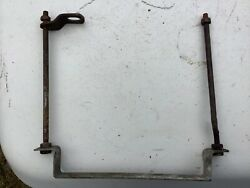Ajs Matchless Ariel Vintage Motorcycle Battery Box Strap Tie Downs Keepers