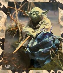 Frank Oz Signed Autographed 11x14 Photo Star Wars Yoda Rare Beckett Coa
