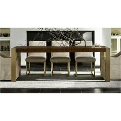 Universal Furniture Modern - Mahogany Gibson Dining Table Retail 1990