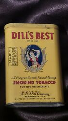 Dill's Best Tobacco Tin Sample Version