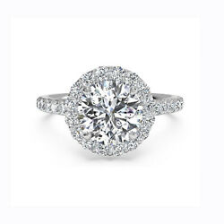 0.50 Carat Mount Diamond Wedding Rings Solid 14k White Gold All Size Available