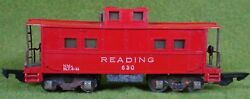 Vintage Gilbert American Flyer Reading Lighted Caboose 630 As Is Free Shipping