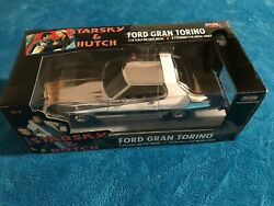 Starsky And Hutch Chrome 118 Scale Die Cast Ford Gran Torino Extremely Rare