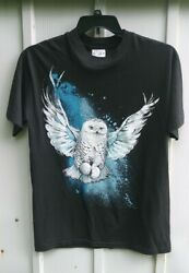 VTG 80's Men's Snow Owl Bull Shoal park Single Stitch T Shirt Black Med