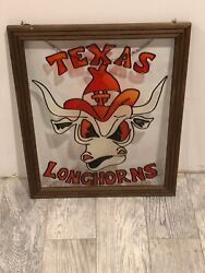 Texas Longhorns Stained Glass