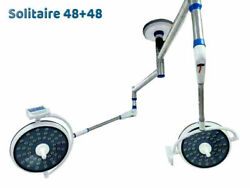 Examination 48+48 Led Light Operation Theater Surgical Light Double Dome Ot Lamp