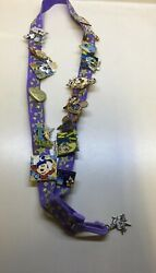 Disney Parks Trading Pins And Tinker Bell Lanyard Lot
