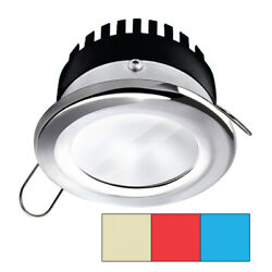 I2systems Apeironandtrade Pro A503 Recessed Led Tri-color Cool White/red/blue 3w Dim...