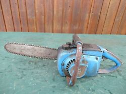Vintage Remington Chainsaw Chain Saw With 12 Bar