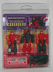 Transformers Mastershooter Collectibles Crusaders Misb