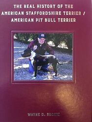 Wayne D. Brown Book American Pit Bull ( signed ) American Staffordshire Terrier