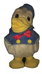 Vintage Donald Duck Battery Operated Talking Collectible Toy As Is