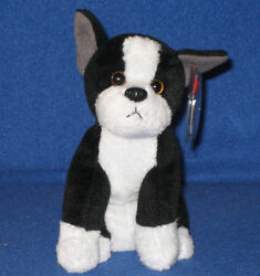 TY TUX the BOSTON TERRIER DOG BEANIE BABY - NEW - MINT TAGS